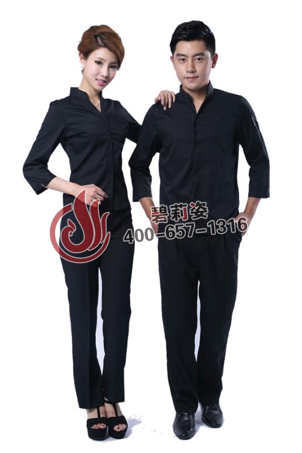 餐厅服务员服装图片